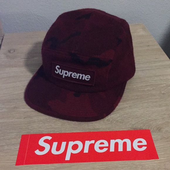 f6a18191e98 Supreme Camo Wool Hat. M 5a72d7dc9a945519fdc1da45